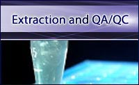 Extraction and QA/QC