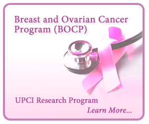 Breast and Ovarian Cancer Program (BOCP): UPCI Research Program. Learn More