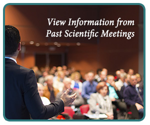 View Information from Past Scientific Meetings
